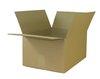 Skládací krabice z vlnité lepenky, 3 vrstvá,  390 x 290 x 200 mm   -   Kvalita 1.30 C,  hnědá