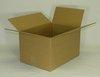 Skládací krabice z vlnité lepenky, 3 vrstvá,  430 x 310 x 250 mm   -   Kvalita 1.30 C,  hnědá