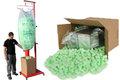 Zelený Flo−Pak s přístrojem pro plnění