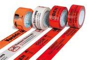 Výstražné a označující lepicí pásky