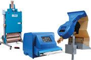 Stroje k výrobě papírového polstrování