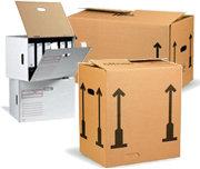 Stěhovací krabice, archivační krabice
