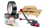 Zabezpečení zboží, palety, stěhovací a archivační krabice
