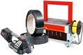 Vázací pásky a stroje